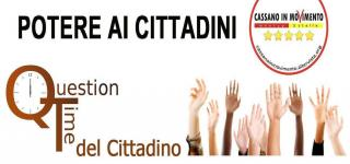 question time cittadino